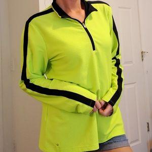 Lauren Ralph Lauren Neon Green Black Jacket